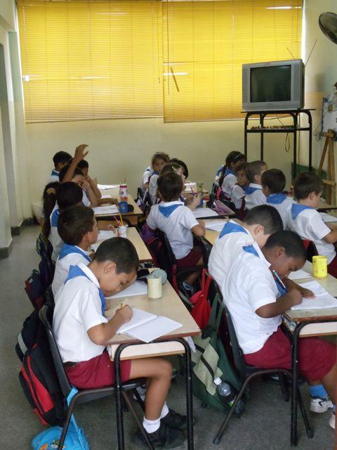 Whole classroom